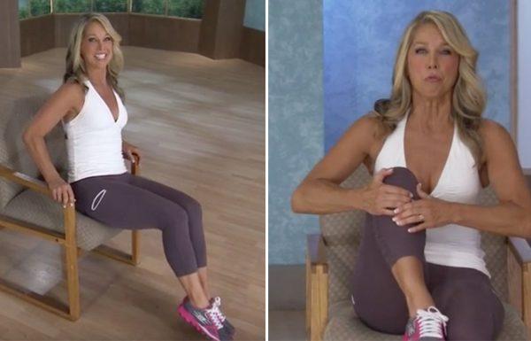 5 תרגילים אפקטיביים ביותר שיכניסו אתכם לכושר ויחטבו לכם את הגוף בזמן שאתם יושבים על כיסא!