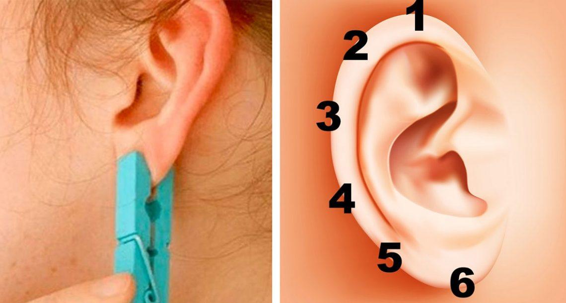 הניחו אטב כביסה על האוזן למשך 5 שניות. האפקט הלא צפוי יפתיע אתכם ובגדול!