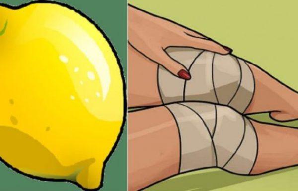 סובלים מכאבי ברכיים? השתמשו בטריק הלימון הטבעי והגאוני הזה