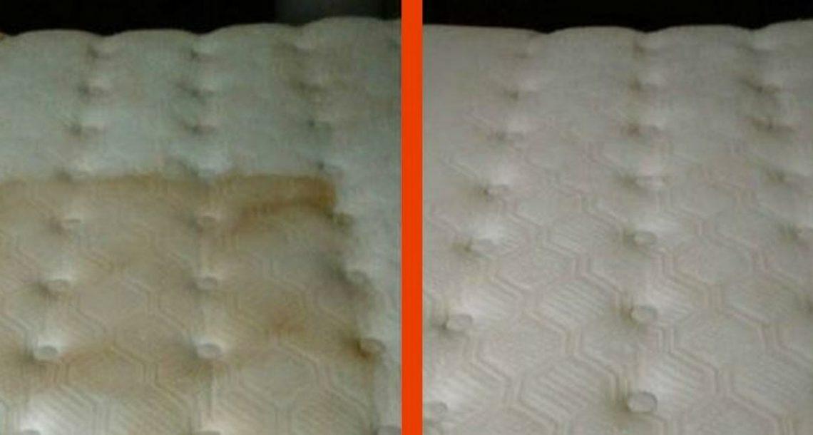 כך תנקו בקלות ובמהירות את המזרן שלכם – בעזרת 2 רכיבים בלבד!