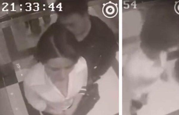 גבר דוחה הטריד אישה במעלית – שניות אחר כך למד לקח שהוא בחיים לא ישכח