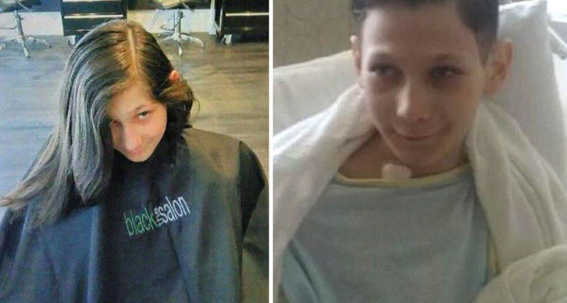 ילד עם שיעול תרם את השיער שלו לילדים חולי סרטן – אך אז הרופאים גילו את האמת האיומה
