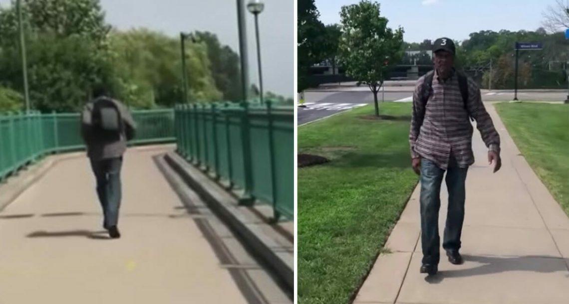 """קשיש בן 99 הולך 10 ק""""מ כל יום – כשהסיבה התגלתה הלב פשוט נשבר"""