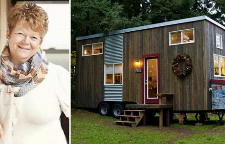 """אם חד הורית ענייה בנתה לעצמה בית בגודל 19 מ""""ר – מבט אחד פנימה, ואתם תרצו לגור בו היום!"""