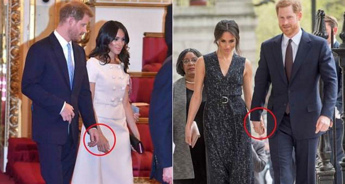 מומחים מאשרים: זאת הסיבה שהנסיך הארי ומייגן מרקל הפסיקו להחזיק ידיים
