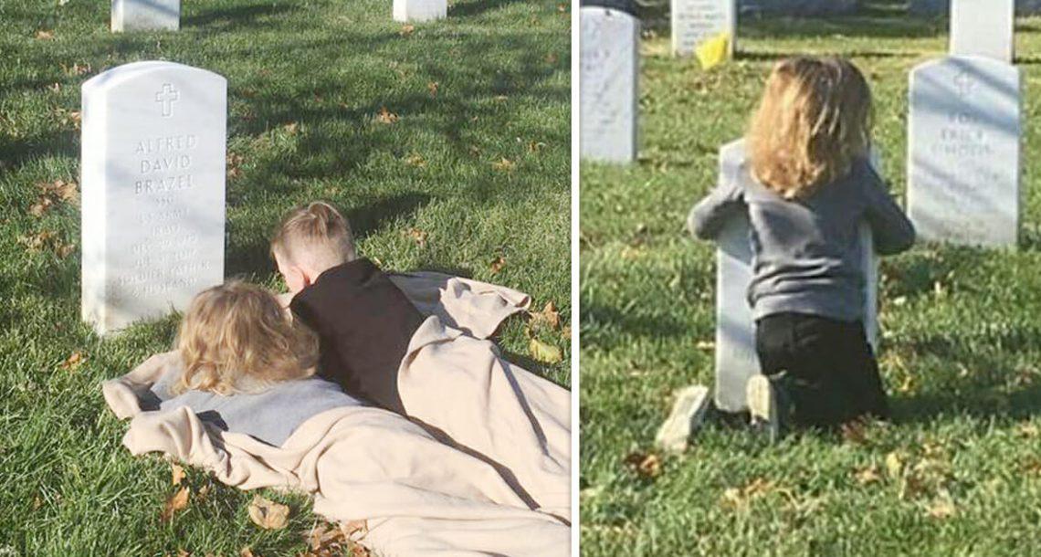 ילדים אמרו שהם יכולים 'להרגיש את אבא' – אז האח הצעיר אמר שיש לו עוד דבר אחד לעשות