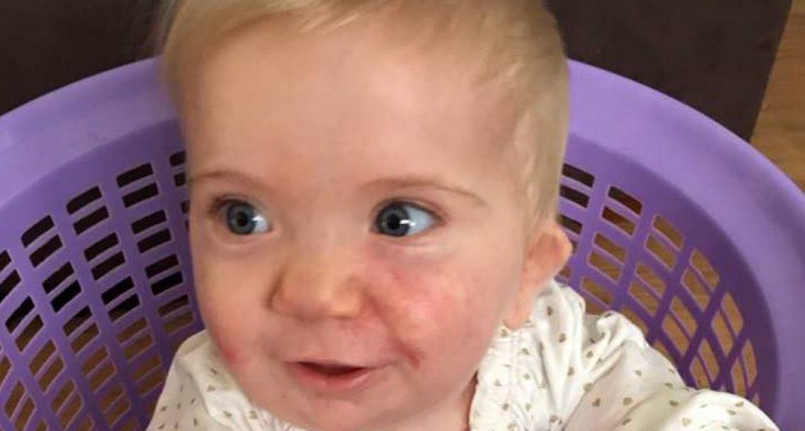 שני ההורים מעל 1.80 מטר, אבל כאשר התינוקת שלהם נולדה, הרופאים הבינו שמשהו אינו כשורה