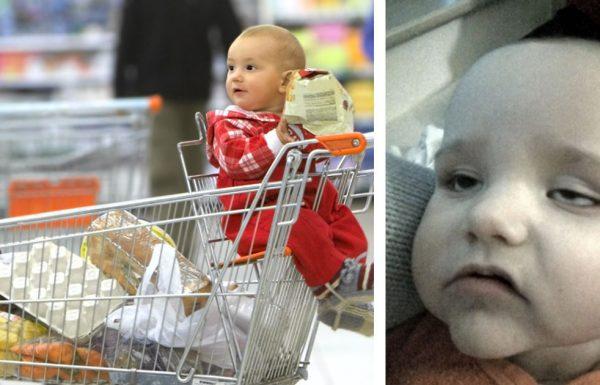 אמא הניחה את הבן שלה בעגלת הקניות בסופר מרקט. יום למחרת הוא התעורר עם חום 39.5