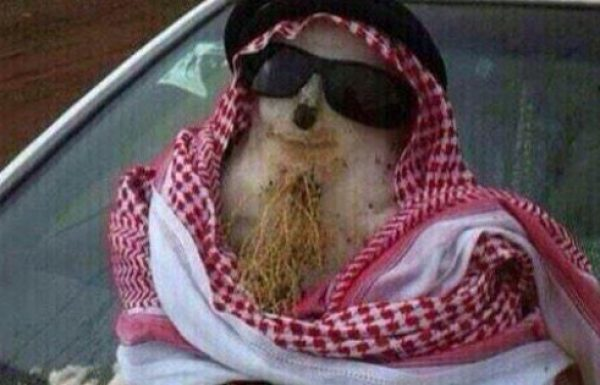 תושב ערב הסעודית נידון למוות אחרי שבנה איש שלג של הנביא מוחמד