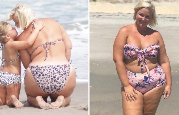 הבת שלה קראה לה שמנה אחרי שהלכו לשחות – עכשיו התגובה שלה מתפשטת ברשת כמו אש בשדה קוצים