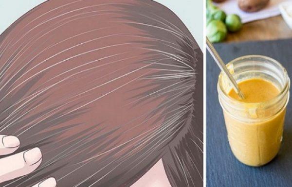 משקה פלא! כך תהפכו את השיער האפור שלכם לצבע הטבעי שלו עם תרופה טבעית ומדהימה
