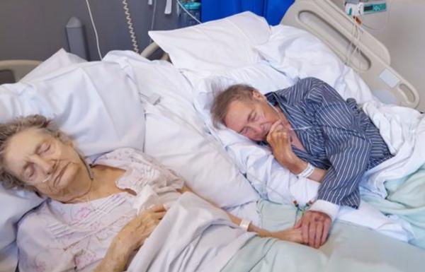 לזוג מבוגר נותרו רק כמה ימים לחיות – ואז האחות בבית החולים עשתה את הדבר הנכון כמחווה לאהבה שלהם
