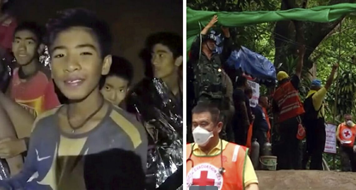 חדשות מדהימות: שמונה נערים חולצו בתאילנד – אחרי שבועות במערה