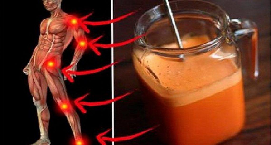 כוס אחת ביום! התרופה הטבעית והמדהימה הזו תחזק את העצמות ותטפל בכאבי המפרקים שלכם!