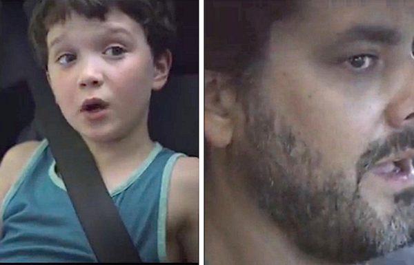 אבא הסיע הביתה ילד מוזר מהשכונה. כאשר אישתו התקשרה בהיסטריה, הנסיעה לפתע קיבלה טוויסט מצמרר ומפחיד