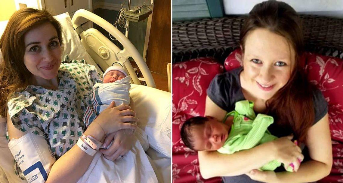אישה הגיעה לבית החולים במחשבה שהיא הולכת ללדת – בסופו של דבר היא יילדה תינוק של אישה אחרת