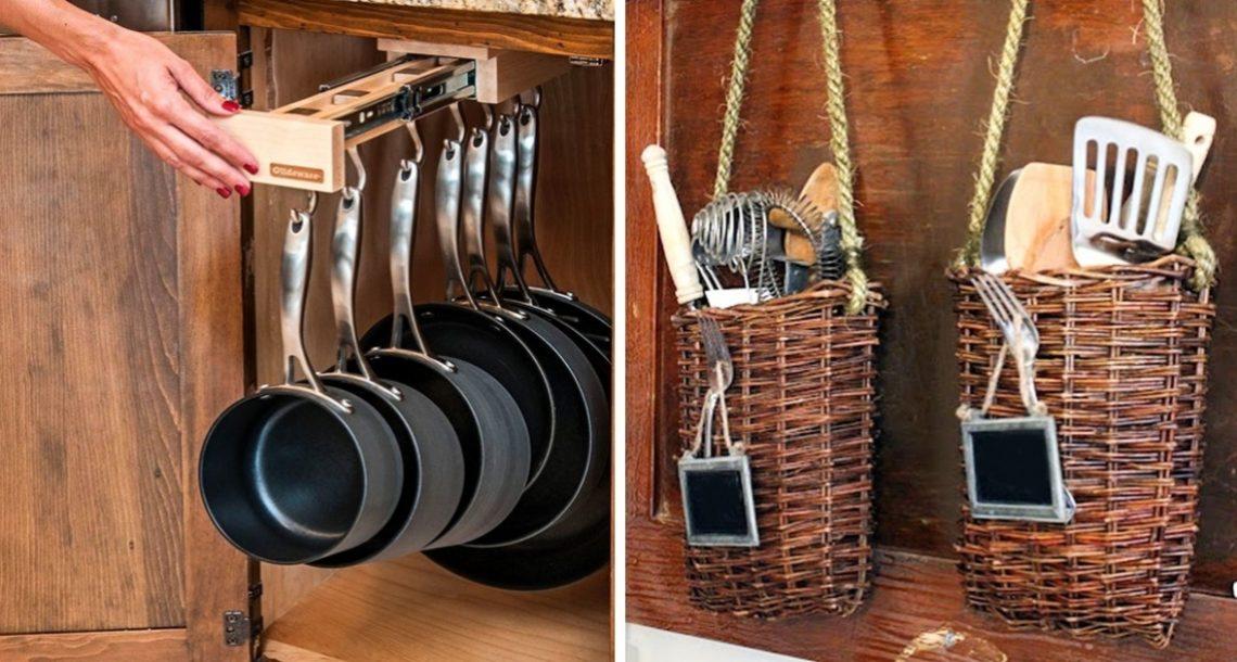 21 דרכים פשוטות אך יעילות לניצול מקסימלי של מטבח קטן