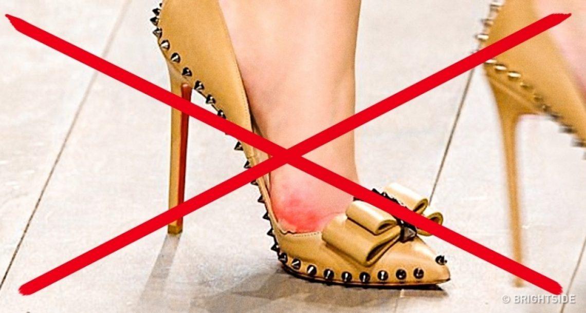 10 טריקים מעולים כך שהנעליים האהובות עליכם לא יכאיבו