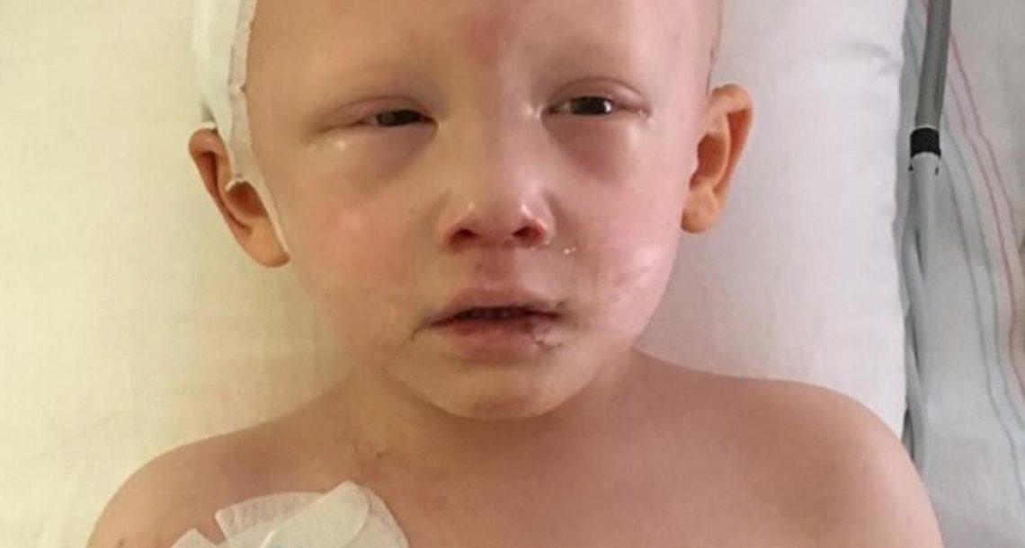 ילד בן 4 גסס מסרטן – אך אז הוא פקח את עיניו ואמר ארבע מילים…