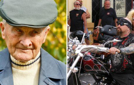 אדם בן 91 הוטרד על ידי 3 אופנוענים, אז שלף את הארנק והשיג את הנקמה האולטימטיבית