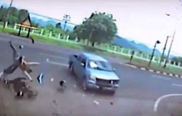 מצלמה תעדה נשמה של אישה עוזבת את הגוף שלה אחרי תאונה קטלנית