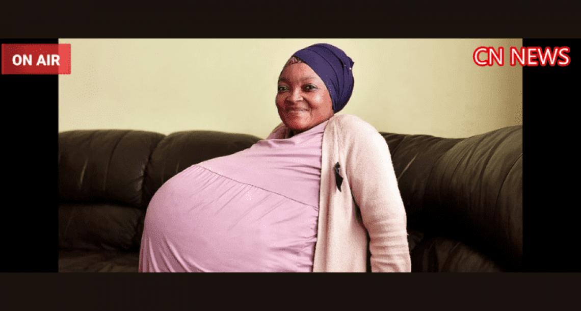 אמא בת 37 שברה את שיא העולם לכמות תינוקות בלידה אחת. לא האמינה למראה עיניה כאשר הרופאים חשפו את האולטרסאונד