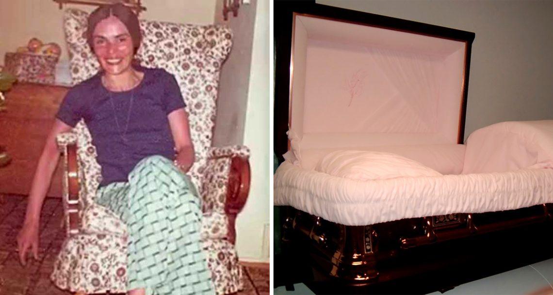 הבן התעלם מאמא שלו עד שהיא מתה, הסתכל למטה לתוך הארון שלה, והבין את האמת האיומה