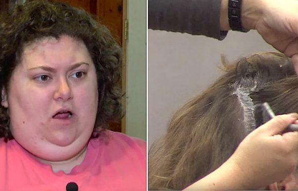 ספרית סירבה לגעת בשיער שלה, עכשיו המסר שלה מתפשט באינטרנט כמו אש בשדה קוצים