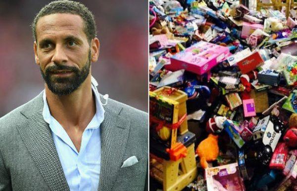 כדורגלן עבר תרם צעצועים בשווי 3 מיליון שקל לילדים במצוקה כדי שיהיו להם מתנות בחג המולד