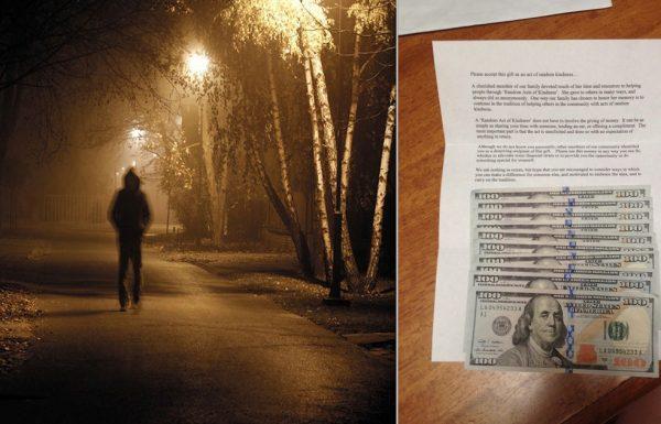 אדם זר השאיר לה מכתב מסתורי – ומה שהיה בתוכו ריגש אותה עד דמעות