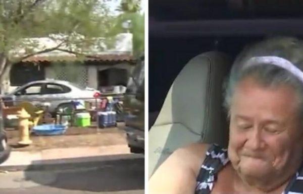 אישה זקנה גרה במכונית שלה מול ביתה – ואז השכנים הבינו מדוע היא מסרבת להיכנס פנימה