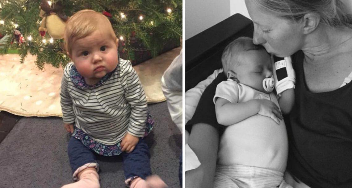 הבטן של ילדה בת 3 חודשים גדלה וגדלה – רופאים הביטו פעם אחת וקלטו את האמת האיומה