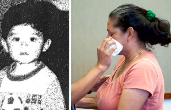 תינוק בן שנה נעלם ללא עקבות ב 1995 – 21 שנים אחר כך, אמו התמוטטה כאשר השקר של האקס שלה נחשף