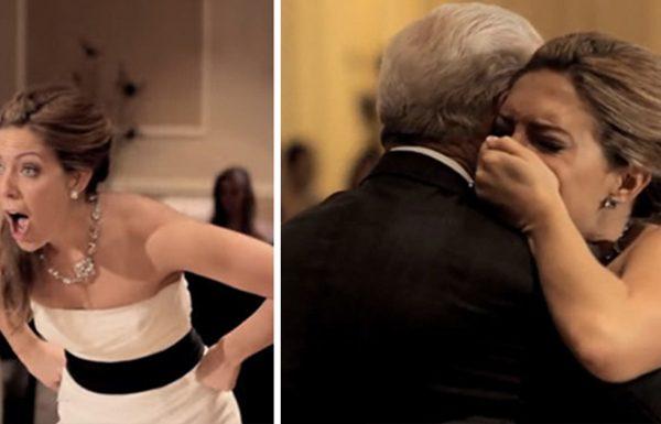 אבא שלה מת לפני החתונה – אבל אז קול מיוחד באולם האירועים אמר לה להסתובב