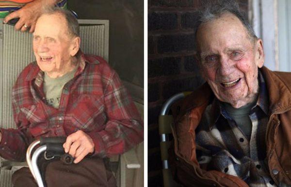 אדם בן 98 שמר על הסוד שלו במשך 70 שנה – השכנים שלו נותרו ללא מילים כשראו את התרומה שלו