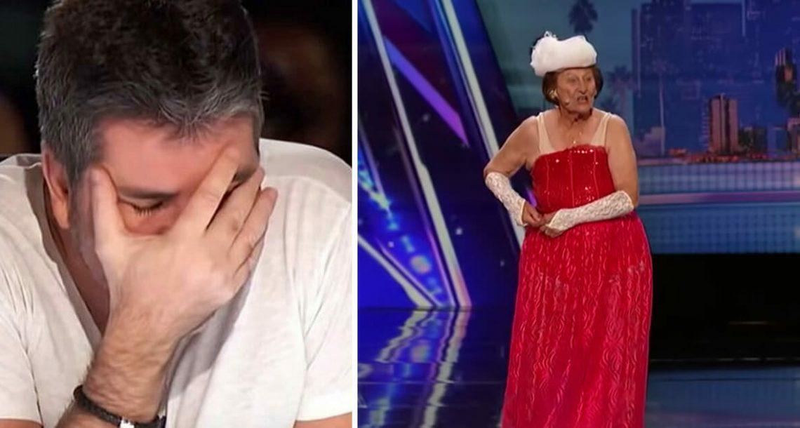 אישה בת 90 הפחידה את השופטים כשהורידה את הבגדים כדי לרקוד, הדהימה את כל העולם עם המופע שלה