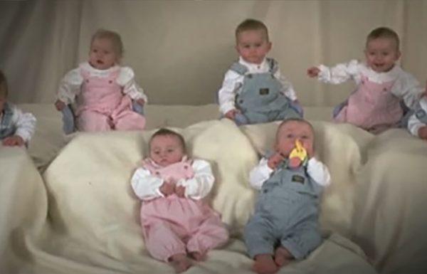 השביעייה הראשונה בעולם נולדה לפני 23 שנה. וכך הם נראים היום