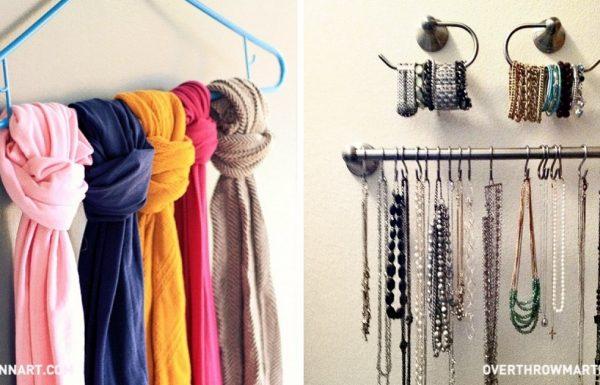 25 דרכים מגניבות ומעולות לארגון וסידור הארון שלכם