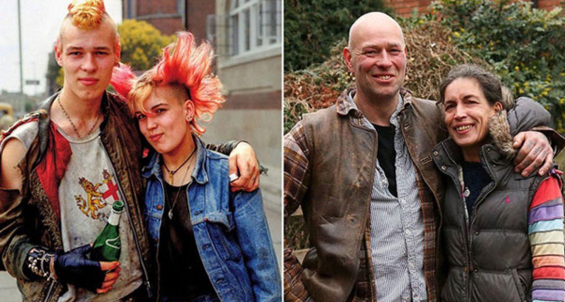 צלם איתר אנשים שצילם בעיר מגוריו לפני 40 שנה כדי לשחזר את את אותן תמונות בדיוק