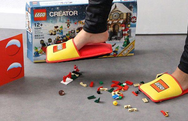 לגו ייצרו נעלי אנטי-לגו כדי להביא לסיומן של 66 שנות כאב