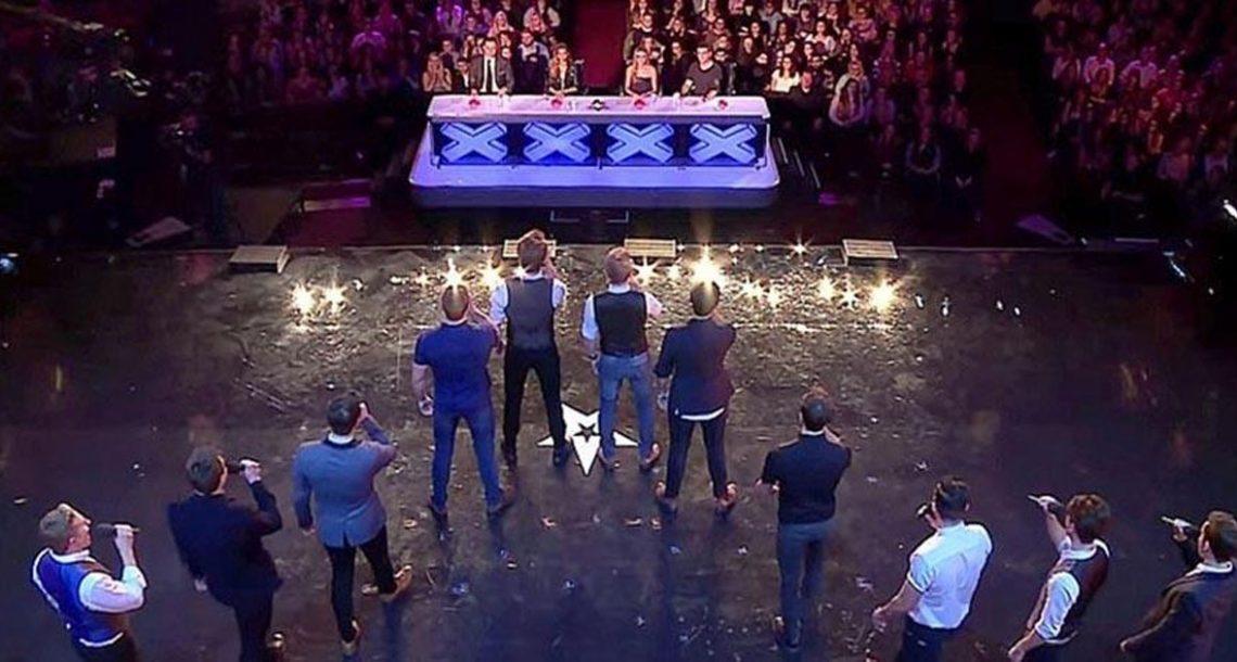 12 גברים עשו אודישן יחד. היממו את השופטים ואת הקהל עם העיבוד המדהים שלהם ללהיט הענק הזה