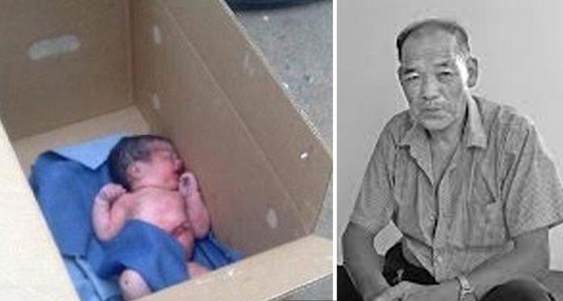 אדם מצא תינוקת בתוך קופסת נעליים, ימים אחר כך הוא מצא עוד אחת, וקלט את האמת שוברת הלב