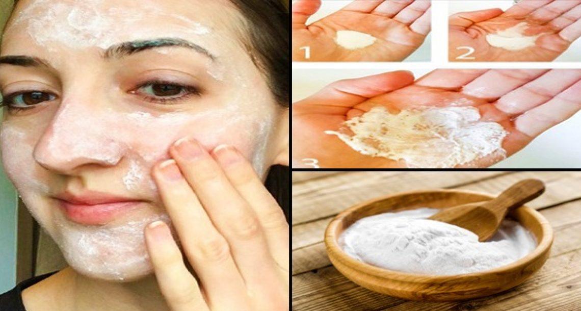 3 טיפולי אבקת סודה לשתייה שיגרמו לעור הפנים שלכן להיות חלק ולהיראות מדהים!