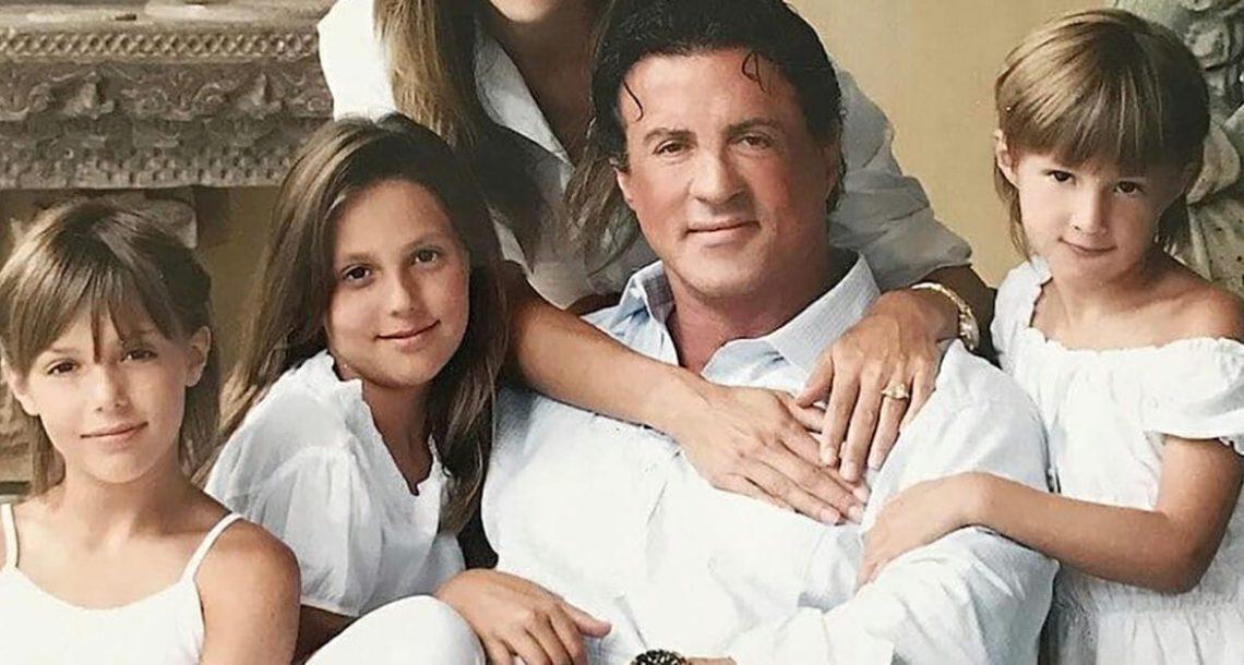 הילדים של סילבסטר סטאלון כבר גדולים – תראו איך הבנות של 'רוקי' נראות היום!