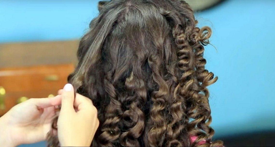 האמא הזו חשפה טריק פשוט וגאוני שמראה איך לעשות תלתלים בשיער בשיטה טבעית בלי שימוש בחום