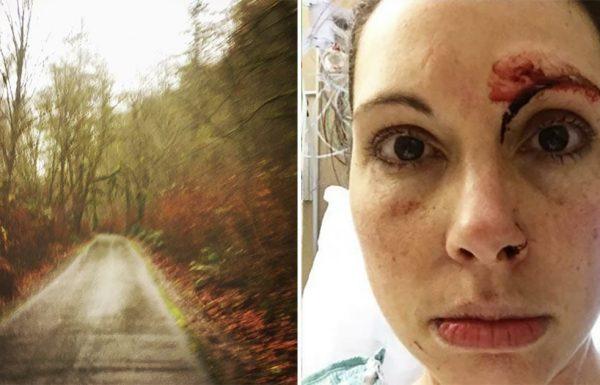 חלאה תקף ביער אישה שיצאה לריצה – מיד הבין את הטעות שלו כשהיא הסתובבה