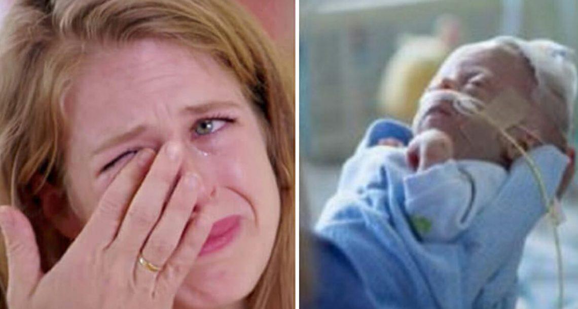 תינוק שרק נולד מת בפתאומיות בבית החולים: 4 ימים אחר כך האחות התקשרה לאמא עם גוש בגרון