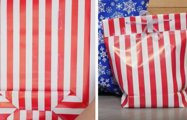 כך תהפכו נייר עטיפה יפיפיה לתיק מתנה מדליק שכל אחד ישמח לקבל