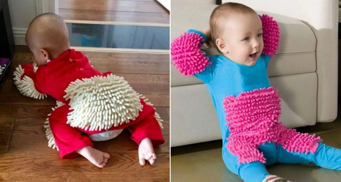 הנה 'סמרטוט התינוק', שהופך את הילד האהוב שלכם לעוזרת בית קטנטנה