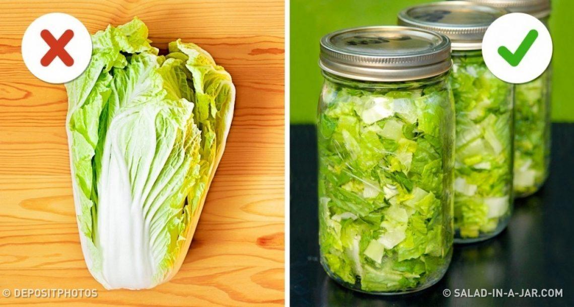 10 טיפים וטריקים שיעזרו לכם לשמור על טריות האוכל שלכם ליותר זמן